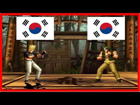 Kof 98 - dante (south korea) vs kwanjjama (south korea) Fightcade