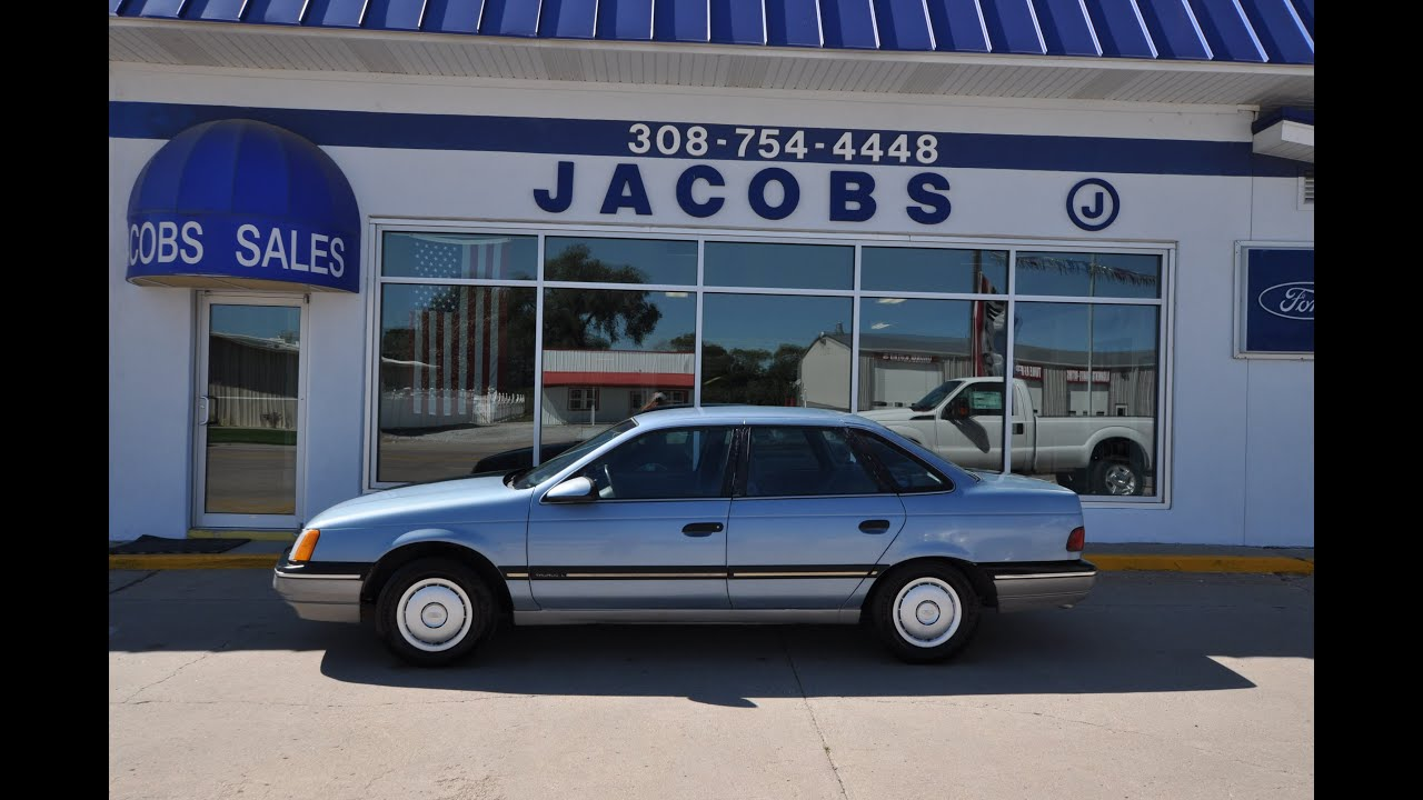 1988 Ford Taurus L With 3 0l V6 And Only 57 000 Miles For