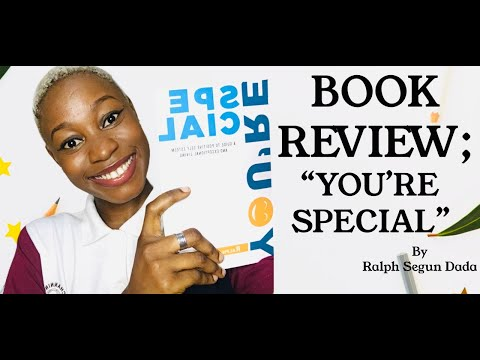 Book Review; YOU'RE SPECIAL by Ralph Segun Dada