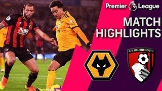 Wolves v. Bournemouth | PREMIER LEAGUE MATCH HIGHLIGHTS | 12/15/18 | NBC Sports