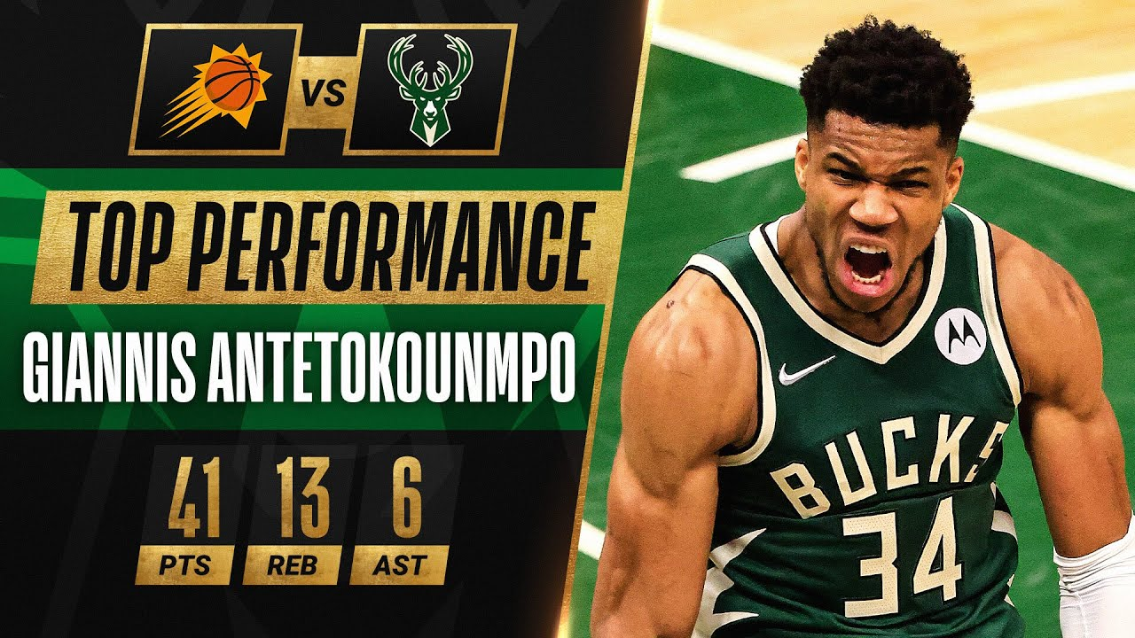 ALL 14 BUCKETS From Giannis' 41 PT DOMINANT Game 3 Win! 🔥