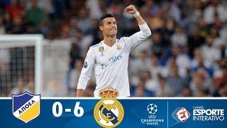 Melhores Momentos - APOEL 0 x 6 Real Madrid  - Champions League (21/11/2017)