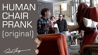 Human Chair Scare Prank (Original)