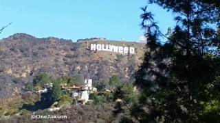 getlinkyoutube.com-Hollywood Sign Changed to Hollyweed in New Years Prank