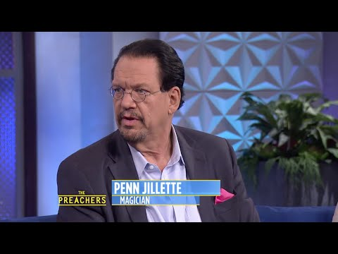 Penn Jillette Explains His Atheism to the Preachers