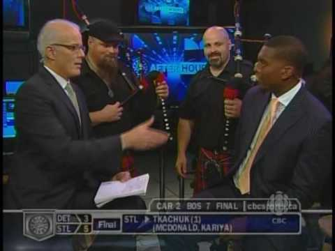 Mudmen/Rob & Sandy Campbell.. Hockey Night in Canada after hours interview