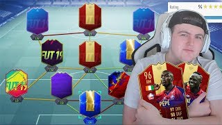 I RATE YOUR TEAMS! 🔥INSANE UNTRADEABLE TEAM! #FIFA19 ULTIMATE TEAM