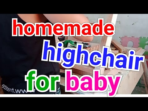 DIY HIGH CHAIR FOR BABY AND KIDS