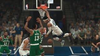 NBA 2K18 My Career - 4 Lobs 2 Posters! PS4 Pro 4K Gameplay