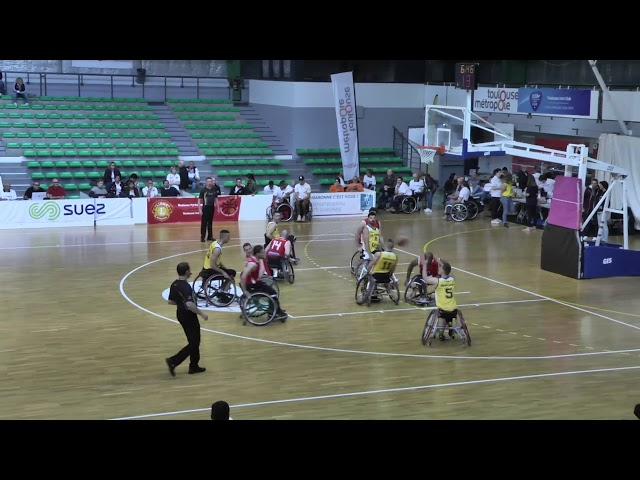 FINAL 4 BASKET FAUTEUIL NATIONALE A MATCH 2/4 LE CANNET vs SAINT AVOLD