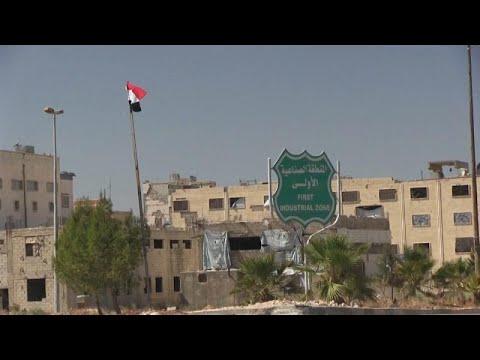 شاهد: حلب تعيد فتح مصانعها وتبعث الاستثمارات الصناعية من جديد…  - 16:54-2019 / 1 / 18