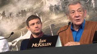 Sir Ian McKellen & Peter Jackson on the Classic 6 Tolkien Movies & Saying Goodbye to Gandalf