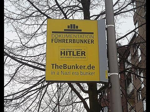 Paseo por Bunker de Adolf Hitler 2018 -Führerbunker-