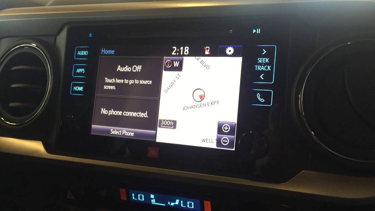 2016 Toyota Tacoma Navigation Youtube