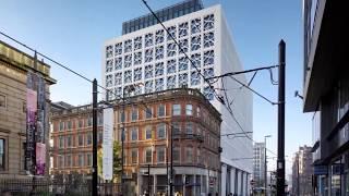 2 St  Peters Square Manchester, Techrete Architectural Precast Concrete Cladding
