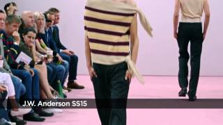 J.W. Anderson  SS15 at London Collections Men