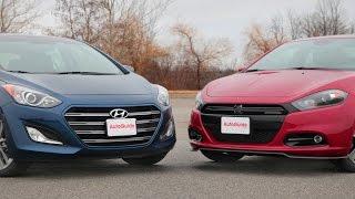 2016 Hyundai Elantra GT vs. 2015 Dodge Dart