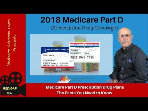 Medicare Part D 2018 (Prescription Drug Coverage)