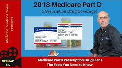 Medicare Part D 2018 (Prescription Drug Coverage)