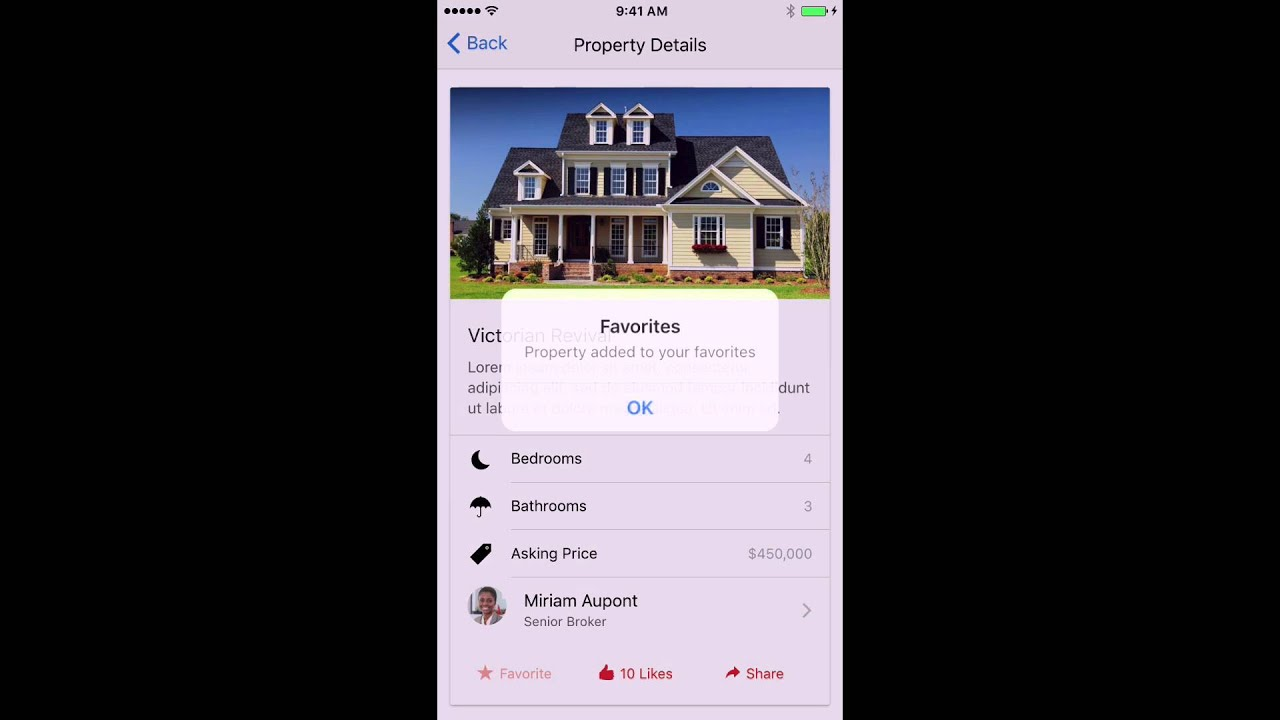 IonicRealty: New Ionic 2 Sample Application | Christophe Coenraets