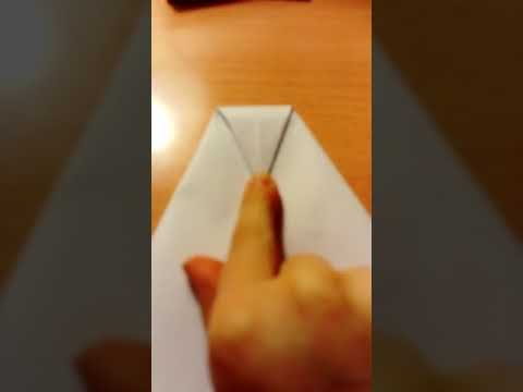 How to make the world's greatest paper plane Super Easy