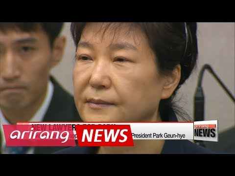 Five new lawyers appointed for ousted former President Park Geun-hye
