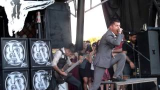 Upon A Burning Body - Showtime / Intermission - Live 8-3-13 Vans Warped Tour