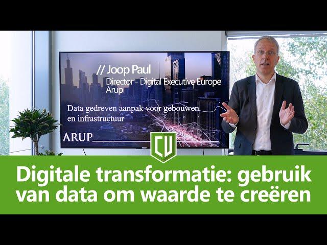 Digitale transformatie: gebruik van data om waarde te creëren | #CU2019