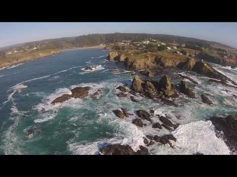 Caspar Headlands, Mendocino County, California, USA