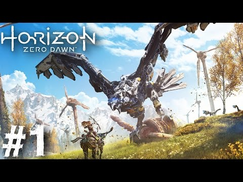 Horizon Zero Dawn Gameplay Walkthrough Part 1 Impressions New Trailer Let's Play PS4 1080P 60 FPS HD