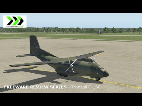 Freeware Review Series for X-plane 11 - Transall C-160