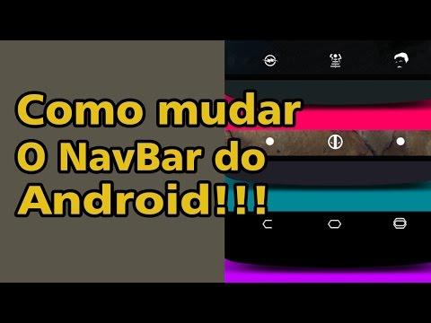 Como mudar a NavBar do seu android !