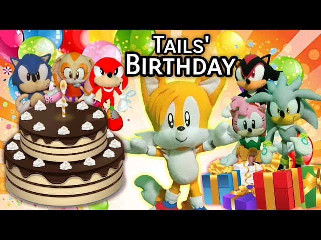 Sonic the Hedgehog - Tails Birthday