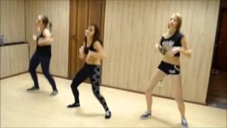 Танцы в Уфе. Видео-урок Связка для начинающих по реггетону. Школа танцев Soul Dance Centre