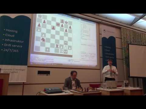 Chess Grandmaster Boris Gelfand - Lecture in Denmark - July 2016