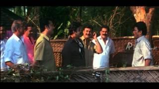 Vamanapuram Bus Route Malayalam Movie | Mohanlal | Force Jagadish to Cut Tree