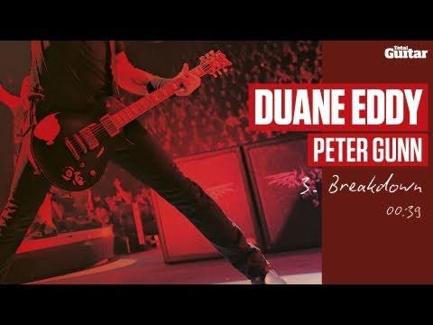 Guitar Lesson: Duane Eddy 'Peter Gunn' -- Part Three -- Breakdown (TG216)