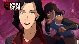 The Legend of Korra Creators Confirm THAT Relationship - IGN News