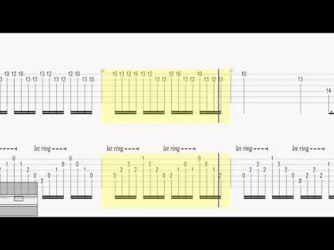 Lost in Hollywood-GUITAR TABS S O A D