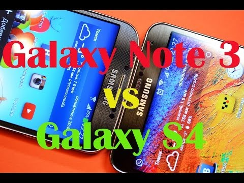 Galaxy Note 3 Vs Galaxy S4: обзор-сравнение [Mobiltelefon.ru]