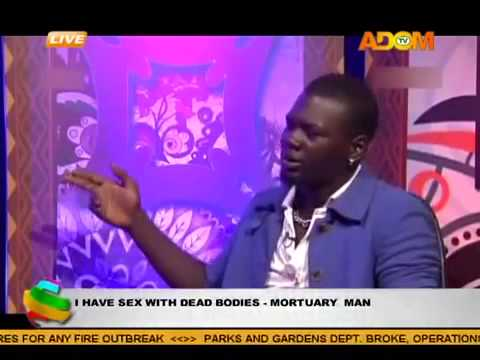 I have sex only with dead bodies - Mortuary attendant