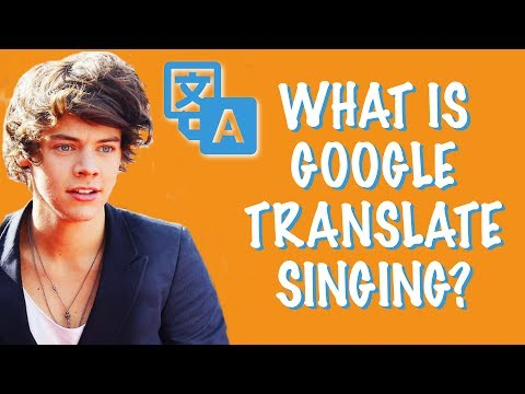 GOOGLE TRANSLATE SONGS #1 ▶ Can you guess the song?
