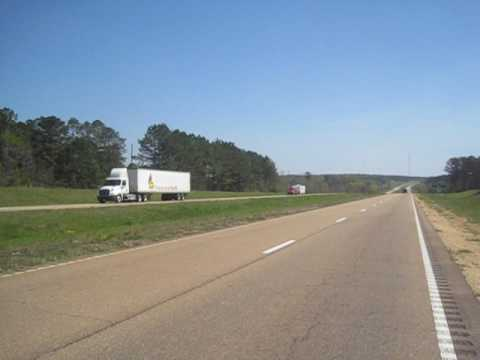 Day 41: Cycling on Highway 84 (Silver Creek, MS)