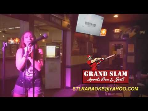 "Angelic singing ""Zombie"" at karaoke night - Grand Slam"