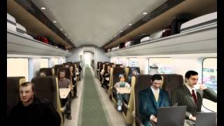 3D Architectural Visualization of a Railway Transport project animation in UAE