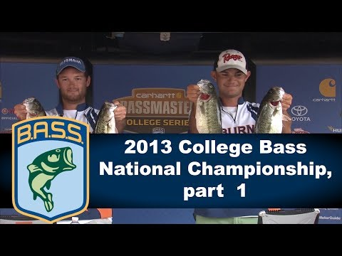 2013 College Bass National Championship, part  1