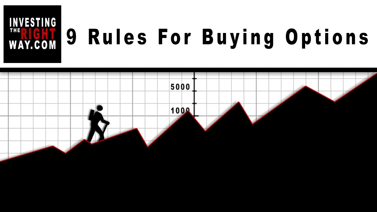 10 Rules For Buying Options