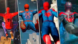 Evolution of Highest Jump in Spider-Man Games! (2000-2020)