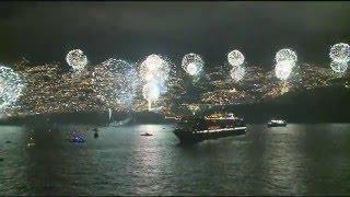 Madeira Silvester-Feuerwerk 2015: Mitschnitt der AIDAsol Livesendung (Madeira Fireworks 2015)
