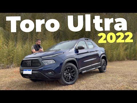 NOVA FIAT TORO ULTRA 2022: mais completa por quase R$ 200k